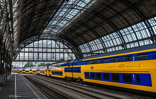 Amsterdam train station | by Phil Marion (176 million views - THANKS)