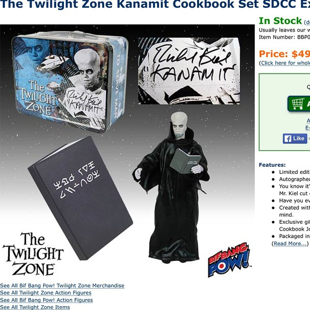 To Serve Man (the Twilight Zone) SDCC Gift tote set (conta…   Flickr