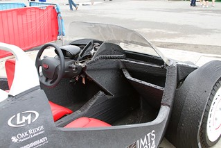 Local Motors 3D printed car | Fenders printed separately  Bo