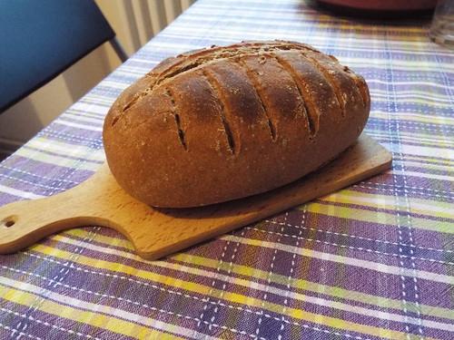 Bread #17 - Roggen, Dinkel vollkorn, Roggen-sourdough, sunflower seeds