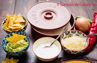 Fajitas de Pollo y de Carne   by Corazón de Caramelo