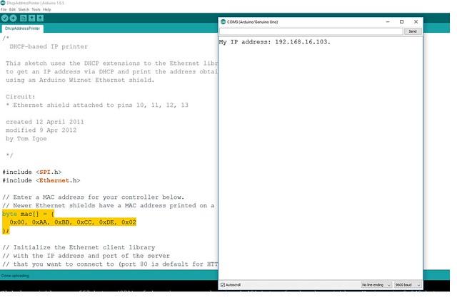 ip adress serial monitor