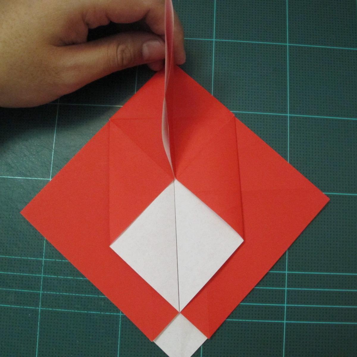 การพับกระดาษเป็นรูปสัตว์ประหลาดก็อตซิล่า (Origami Gozzila) 011