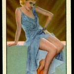 Cigarette Card - Actress, Polly Walters