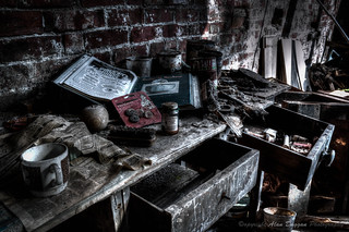 Holdings Country Pottery - Work Area | by DugieUK