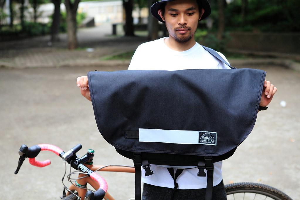 XL BaileyWorks SuperPro Messenger bag Black
