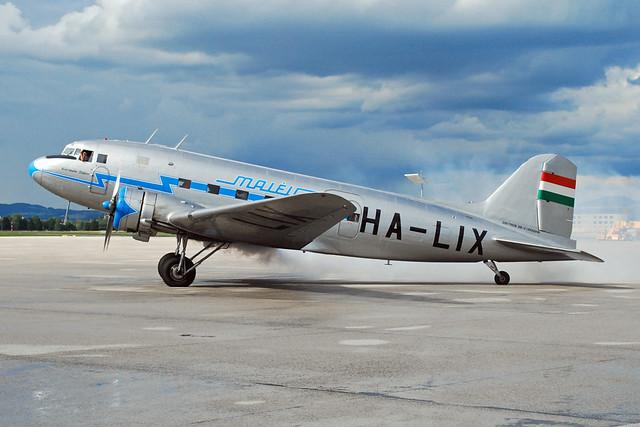 Malev Lisunov LI-2 HA-LIX