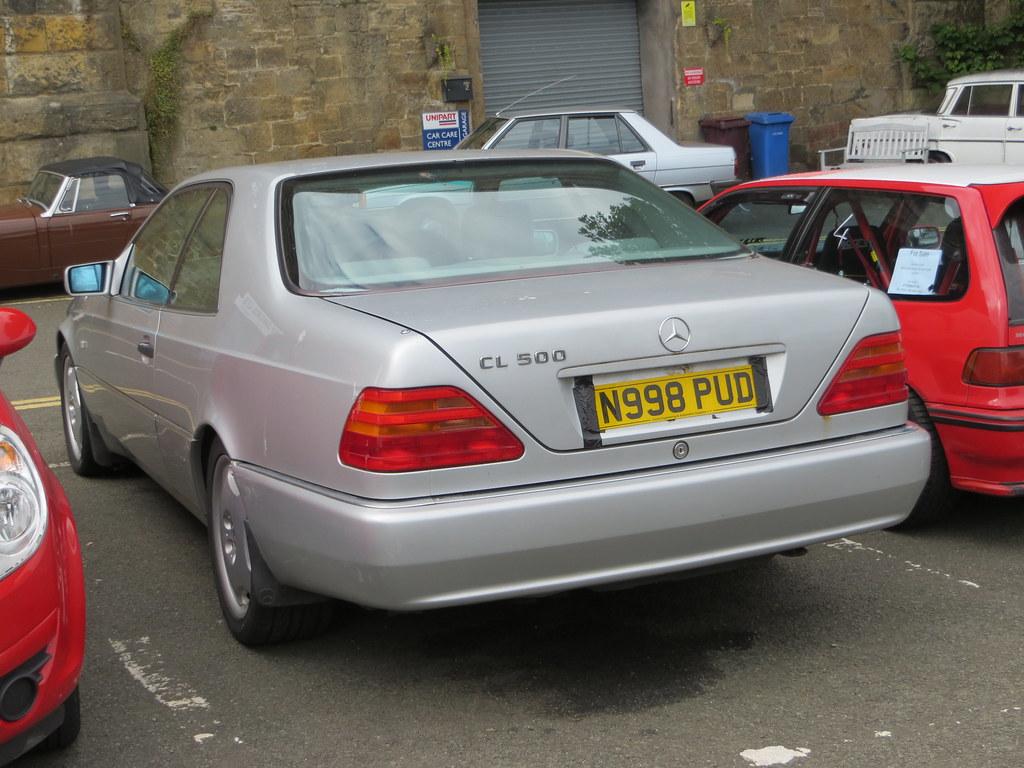 1995 Mercedes Benz Cl 500 Alan Gold Flickr