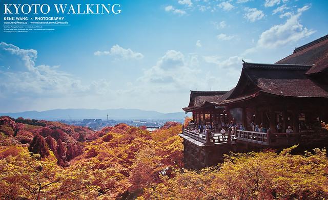 清水寺 KYOTO WALKING