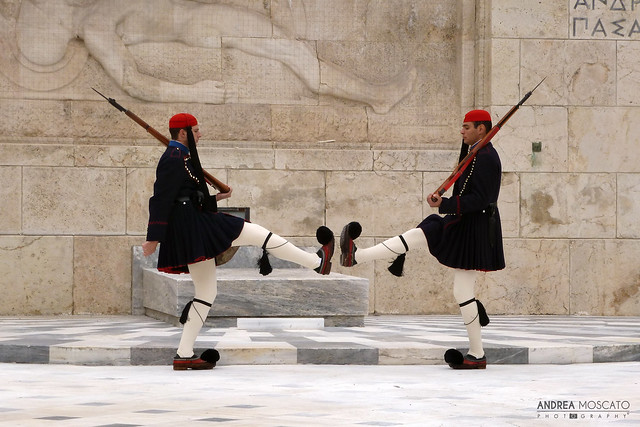 Tomb of the Unknown Soldier, Greek Parliament - Athens, Greece