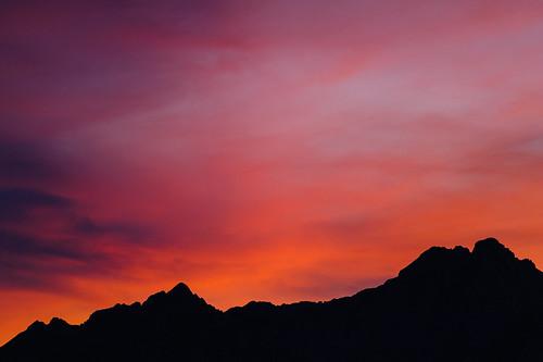 sunset austria tirol österreich europa europe cloudy hiking sommer hike wandern karwendel scharnitz karwendeltour karwendelmarsch karwendeltäler lovetirol scharnitzpertisau