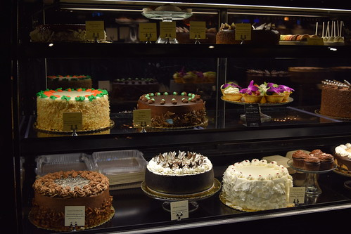 Cakes and Tortes at the Dilettante