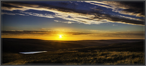 light sunset colour moors yorkshiremoors wessenden wessendenmoor