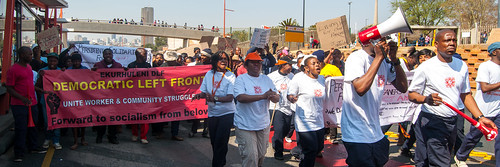 Ekurhuleni Democratic Left Front joins the march | by Meraj Chhaya
