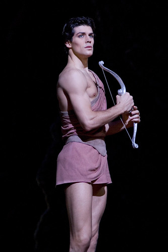 Roberto Bolle in action.