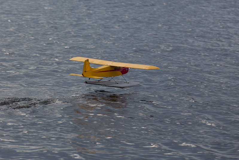 Alan's sea plane.