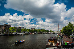 Sailing the Amstel river