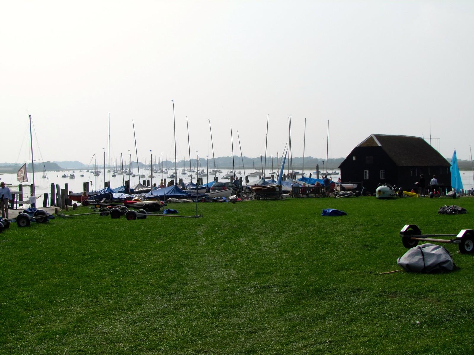 photo from walk Bosham boat club