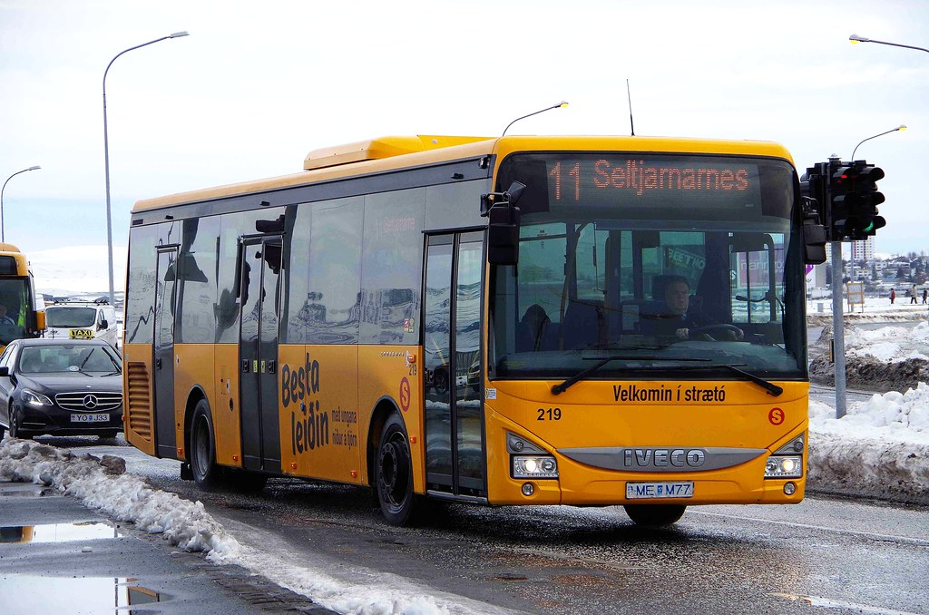 IVECO Crossway - Straeto City Bus Reykjavik | (IS) 219 ME M7… | Flickr