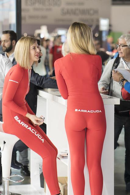 EiCMA 2016 - Barracuda girls