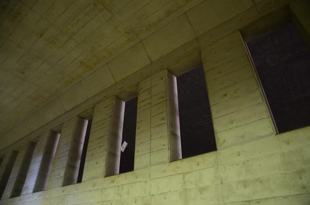 Wall in Tunnel under Osaki High School