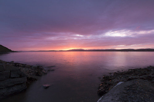 canon 70d sunset inver bay evening donegal ireland beautiful beauty calm