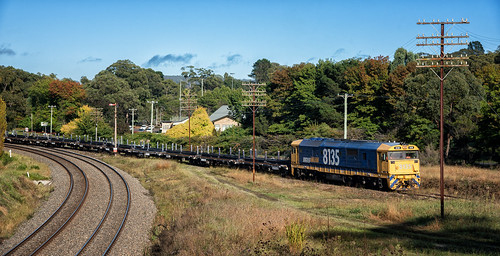 8135 - 2M32 - Mittagong Junction - 05.04.2017 | by SJB Rail