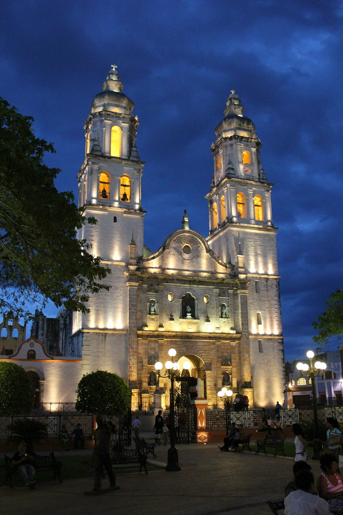 Campeche City Tour by Night   Campeche City Monuments