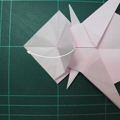 การพับกระดาษเป็นไดโนเสาร์ทีเร็กซ์ (Origami Tyrannosaurus Rex) 028