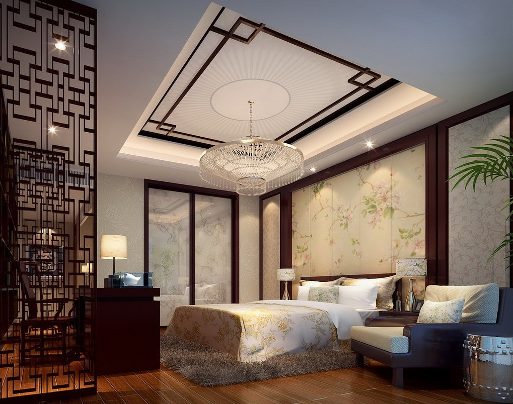 . Chinese Bedroom Interior Design Style Chinese Style Interi    Flickr