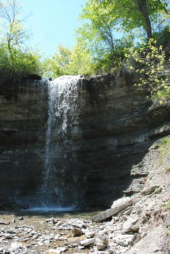 ontario waterfall manitoulinisland bridalveilfalls kagawong kagawongriver