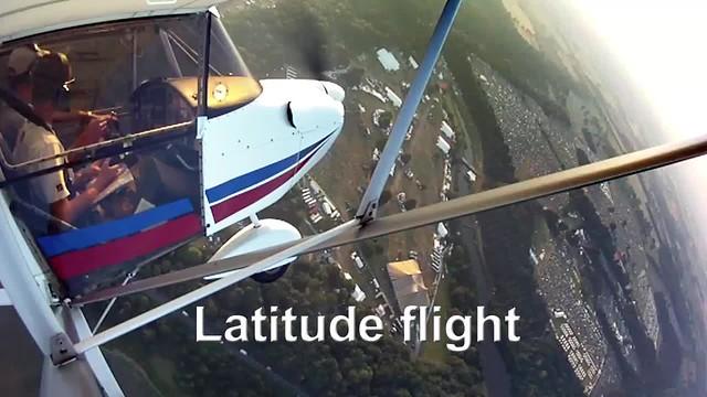 Latitude Flight video