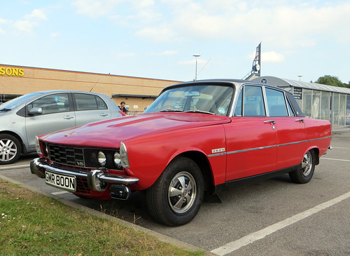1975 Rover 3500 P6 | by Spottedlaurel