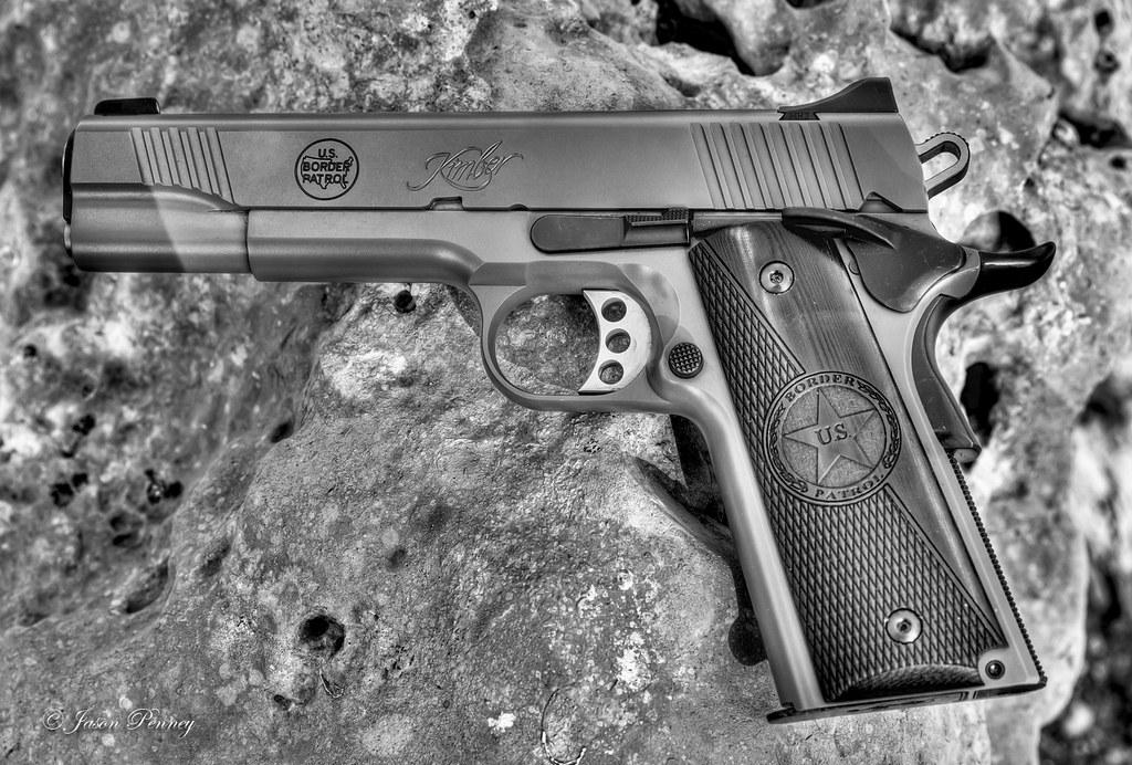 Kimber Custom II 1911 in  45 ACP | A gun design I came up wi