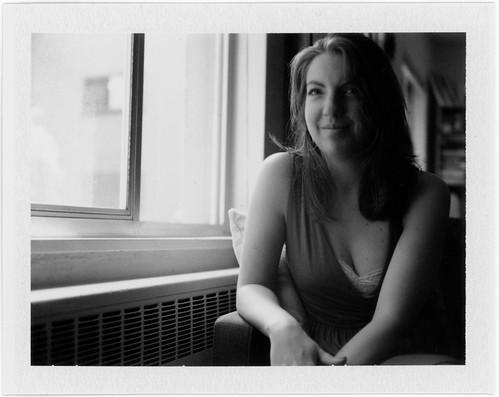 "Image titled ""Ashlyn, Polaroid Test Shot #1, Seattle."""