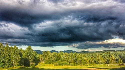cloud mountains clouds vermont scenic clouddrama