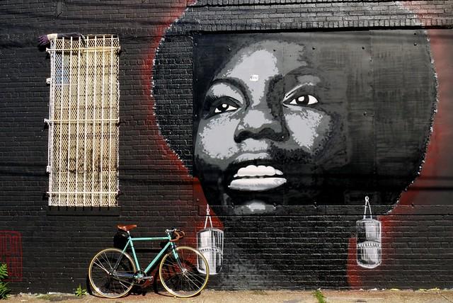 Nina Simone by Damien Mitchell & The Bianchi Pista