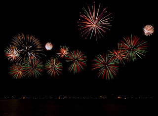 Cannes - Firework 2014 (China) | by liquidphotos@ymail.com