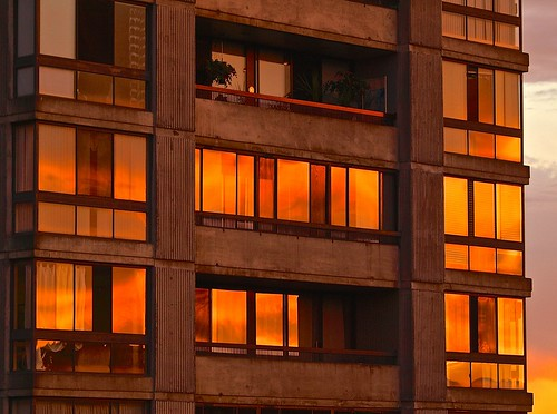 Sunset Windows | by Irene, Montreal, QC