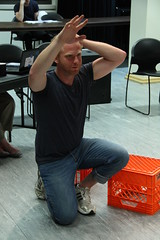 Thu, 2014-08-21 07:42 - Photos from our rehearsal process of the play about making theatre with special attention on the scenes about rehearsal. Wha!? #dontcallitplaypractice