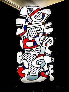 Figure analogue (Monument pour un jardin) - Jean Dubuffet - 19 mars 1968