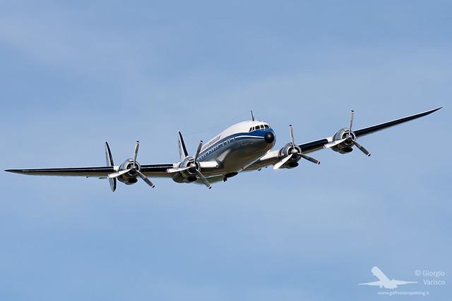 Lockheed L-1049F Super Constellation Breitling - AIR 14 Payerne