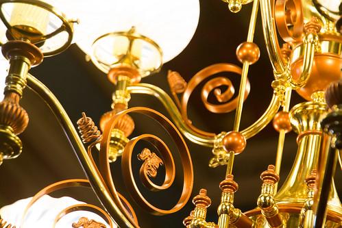 Brass Chandelier Metalwork