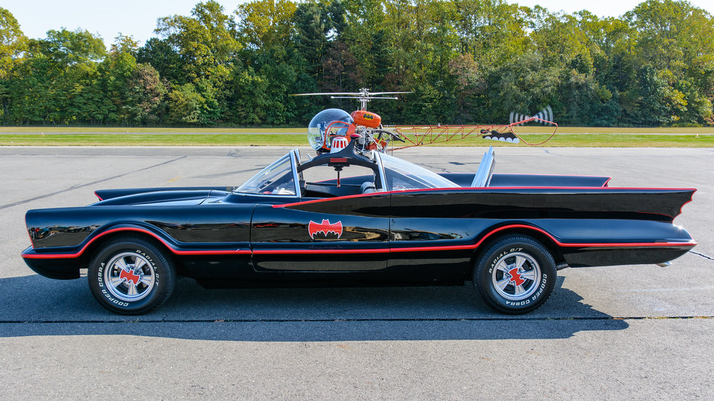 Batmobile and Batcopter