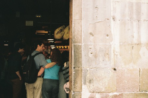 Queuing for La Xampanyeria | by Aoife B