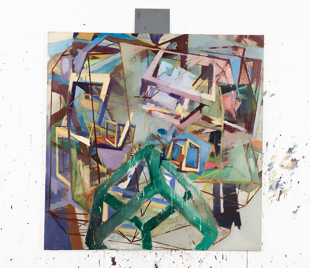 DissYmm, 120 x 120 cm, Eggtempera/Oil-Pigments,2014