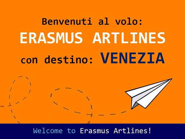 ERASMUS ARTLINES CON DESTINO VENEZIA