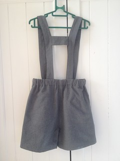 Suspender Shorts from the 'Sewing for Boys' book.