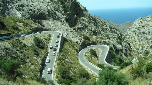 strada verso Santuario Lluch973