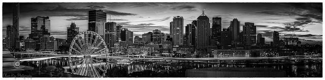 Brisbane CBD Dawn Pano2-Edit